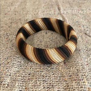 Bracelet with Wrapped Soutache Cording